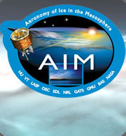 AIM Satellite Mission Patch