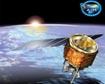 AIM Satellite Rendition and Logo