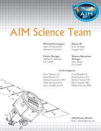AIM Science Team